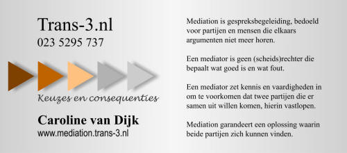 Trans-3.nl Mediation